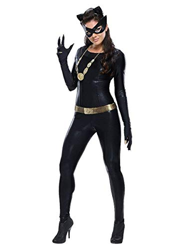 (GYH Sexy Women's Lingerie Wet Look Patent Leather Imitation Leather Siamese Outfit Halloween Cosplay Pole Dance Clothing Catwoman)