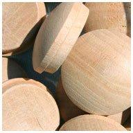 WIDGETCO 1'' Cherry Button Top Wood Plugs