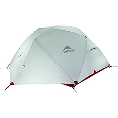 MSR Elixir 3 Backpacking Tent, Red