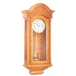 Hermle Classic Oak Regulator Wall Clock 70691-i90341