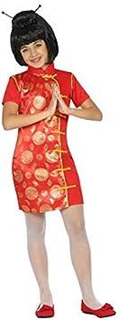 DISBACANAL Disfraz de China para niña - -, 7-9 años: Amazon.es ...