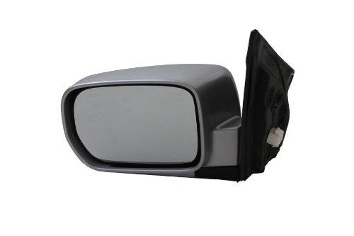 Mirror Left Door Assembly (Genuine Honda Parts 76250-S9V-A11ZF Honda Pilot Left Side Starlight Silver Metallic Door Mirror Assembly)