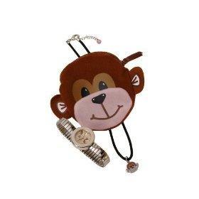 Carvel Monkey Girls Expander Watch, Jewellery & Purse Set H210