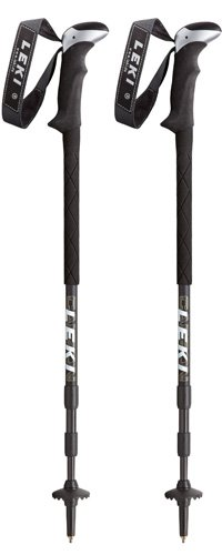 Leki Carbonlite XL Trekking Pole with Photo (Black), Outdoor Stuffs