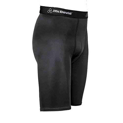 Deluxe Soccer Shorts (McDavid Classic Logo 810 CL Deluxe Compression Shorts Black 3XL)