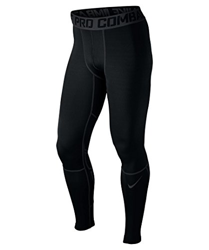 Nike Pro Hyperwarm Dri-FIT Max Compression Mens Tights Black XX-Large