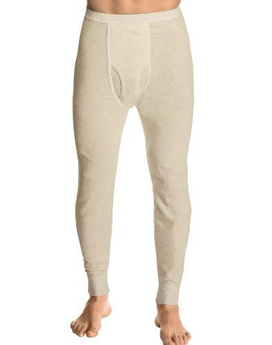 Hanes Men's X-Temp Thermal Pant, Natural, Small by Hanes