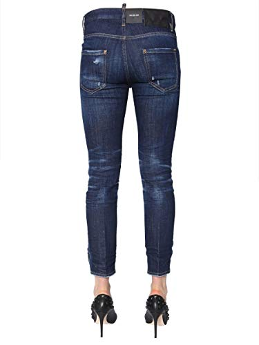 Azul Dsquared2 Mujer Jeans S75lb0121s30342470 Algodon 66WfAwqEn
