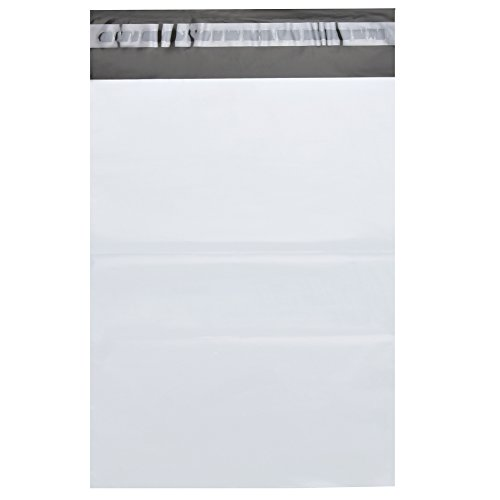 BESTEASY 9'' x 12'' White Poly Mailers Envelopes Bags Self Sealing Shipping Bags (100 Bags) Photo #2
