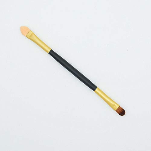 - Makeup Brush Double-end Eyeshadow Sponge Brush Applicator Makeup Cosmetic Tool (Color - Gold)