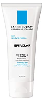 La Roche-Posay Effaclar Medicated Gel Cleanser for Acne Prone Skin with Salicylic Acid