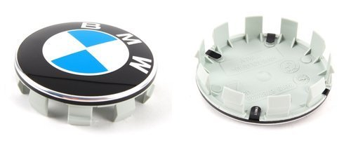 BMW Wheel Center hub Caps w / Emblems (SET 4) for e36 e38 e39 e46 e53 e60 e61 e63 e64 e65 e66 e70 e71 e72 e82 e83 e85 e86 e88 e89 e90 e91 e92 e93 f01 f02 f07