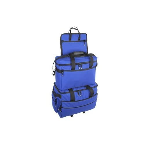 Image of Carrying Cases BlueFig TB19 Sewing Machine Carrier/Project Bag/Notion Bag (Cobalt)
