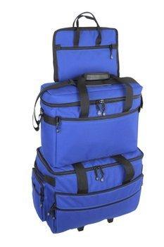 BlueFig TB19 Sewing Machine Carrier/Project Bag/Notion Bag (Cobalt) 4336998269