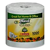 Marcal Paper Mills, Inc Bathroom Tissue, Individually Wrapped,1000 Shts/RL,40/CT,WE