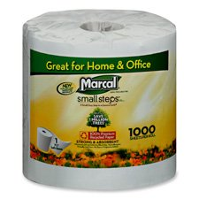 Marcal Paper Mills, Inc Bathroom Tissue, Individually Wrapped,1000 Shts/RL,40/CT,WE by Marcal Paper Mills, Inc