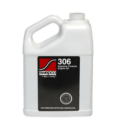 306 Supreme Formula Engine Oil 20w50 - 1 Case, 6 Gallons by Swepco