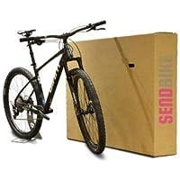 Caja de cartón para bicicleta; caja de bicicleta
