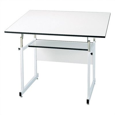 Amazon.com: WorkMaster Jr. Melamine Drafting Table Frame Finish ...