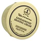 Taylor of Old Bond Street Sandalwood Shaving Cream Bowl, 5.3-Ounce (3 Pack)