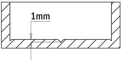 Left-Hand Rotation 9//16-Inch Diameter CMT 317.140.12 Hinge Boring Bit 14mm 10x26mm Shank