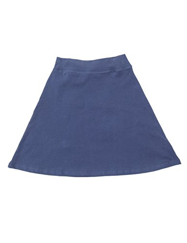 BGDK Girls A-Line Cotton Skirt