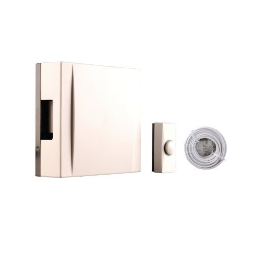 Byron Wired Door Chime Cream by Byron