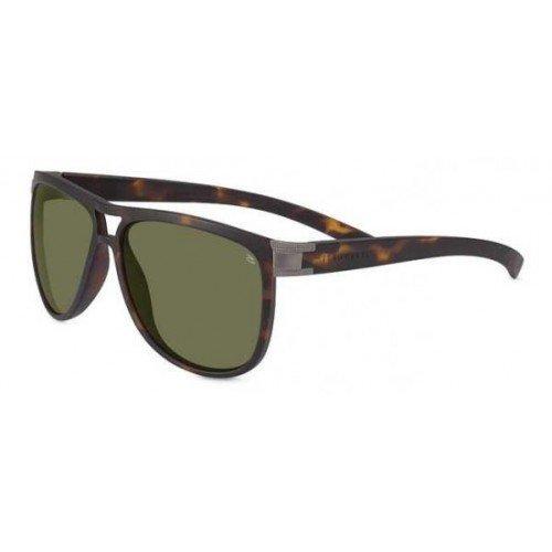 Serengeti 7936 Verdi, Sanded Tortoise Frame, Polarized 555nm - Adjusting Sunglasses Wayfarer