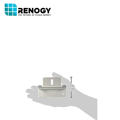 Renogy 4 Sets of Solar Panel Mounting Z Brackets for RV, Boat, Wall and Other Off Gird Roof Installation, 4 Pack by Renogy (Image #7)