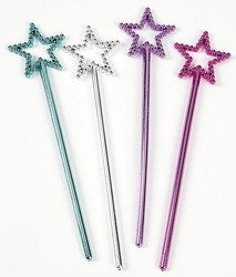 Mini Star Wands (2 dozen) - Bulk [Toy]