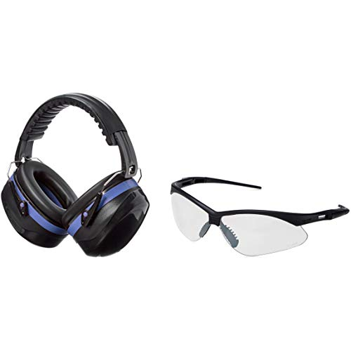 AmazonBasics Safety Muffs Shooting Glasses product image