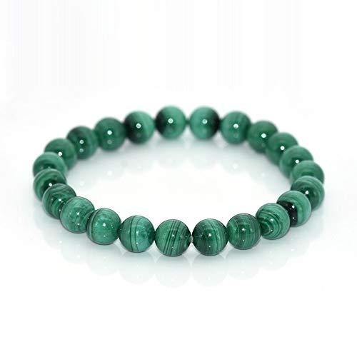 Napoleon Bracelets   for Women   2019 High-Grade Natural 8mm Green Malachite Bracelets   Jewelry Accessory   Stone Bracelets