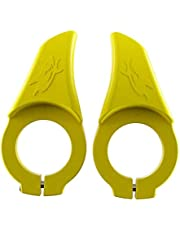 Mountainbike styre tummar handtag cykel tumme handtag bekväm chock absorbera vila grepp