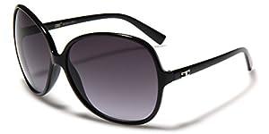 Oversized Frame Women's Round Butterfly Shape Sunglasses