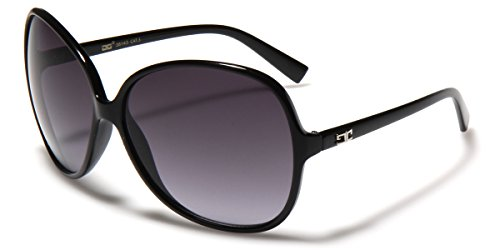 Oversized Frame Women's Round Butterfly Shape - Discount Big Sunglasses