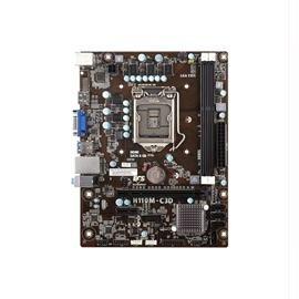 ECS Motherboard 89-206-KQ6101 H110M-C3D S1151 H110 32GB DDR3 PCIExpress SATA mATX Electronics