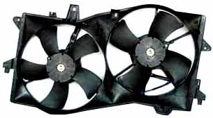 B000IYR6ZK TYC 621090 Mazda MPV Replacement Radiator/Condenser Cooling Fan Assembly 312MoVTXWEL.