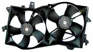 (TYC 621090 Mazda MPV Replacement Radiator/Condenser Cooling Fan Assembly)