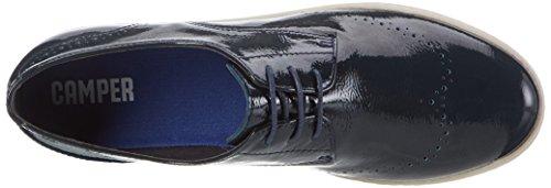 Camper 004 para Azul Dark Zapatillas Blue Uno Mujer F8wrFq