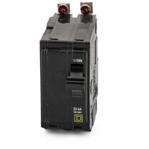 Bolt On Circuit Breaker 2P 20 Amp 120/240VAC/48VDC