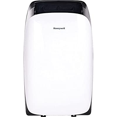 Honeywell HL14CESWK HL Series 14000 BTU Portable Air Conditioner with Remote Control, White/Black