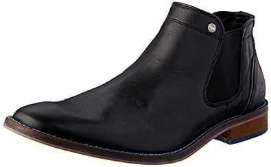 Wild Rhino Men's Bolton Boots, Black, 7 US