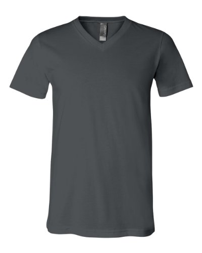 Canvas Unisex 4.2 oz. V-Neck Jersey T-Shirt 3005