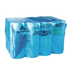 Ply Coreless Bathroom Tissue (Angle Soft ps® Compact® Two-Ply Coreless Bathroom Tissue, 750 Sheets Per Roll, Case of 36)