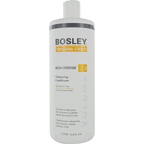 Bosley Professional Strength Bosdefense Conditioner For Color-Treated Hair, 33.8 oz. (Bosley Hair Conditioner)