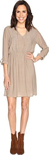 B Collection by Bobeau Women's Liv Dress Taupe - Liv Collection