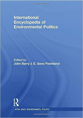 International Encyclopedia of Environmental Politics