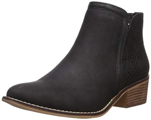 (Madden Girl Women's Neville Ankle Boot Black Paris 7.5 M US)