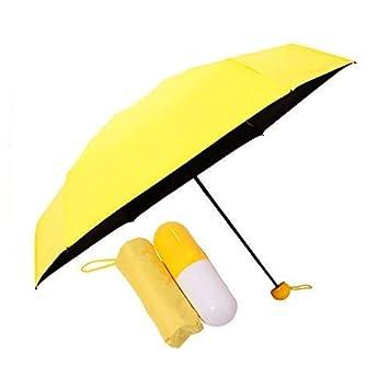 1954e17fa083b SellSwag Ultra Light Mini Umbrella Folding Compact Umbrella with Lovely  Capsule Case Pocket Umbrella: Amazon.in: Bags, Wallets & Luggage