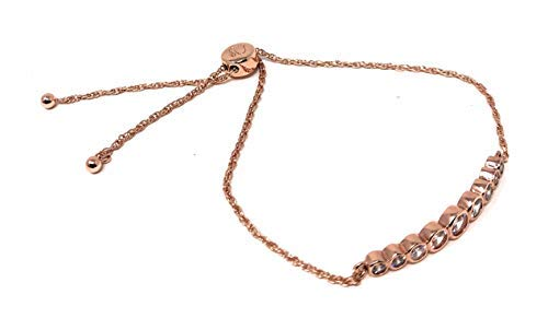 Kate Spade Circle of Love Rose Gold Plated Adjustable Chain Bracelet